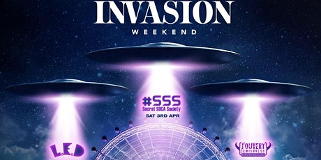 THE INVASION WEEKEND tickets