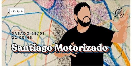 Santi Motorizado en Club TRI  :) entradas