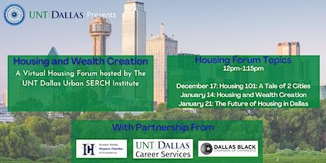 Housing Forum Series tickets