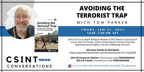 CSINT Conversations: Avoiding the Terrorist Trap with Tom Parker tickets
