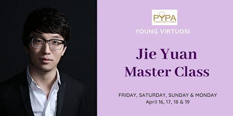 PYPA Young Virtuosi Master Class: Jie Yuan tickets