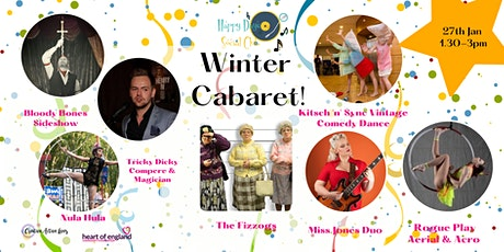 Over 55's Happy Days Social Club Winter Cabaret tickets