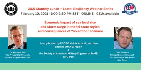 Economic impact of sea level rise and storm surge in the tri-state region tickets