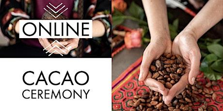 Cacao Ceremony ONLINE: Awaken & Blossom tickets
