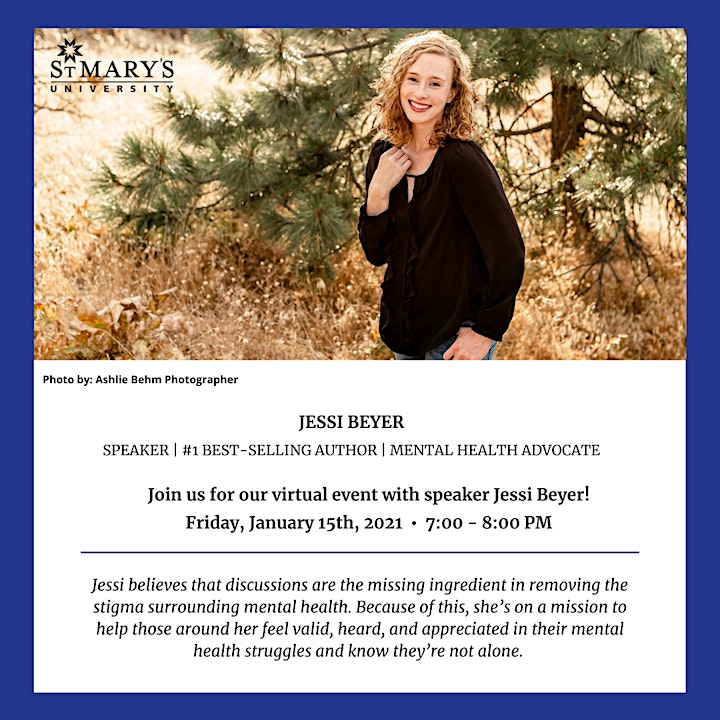 An Informational Evening on Mental Health with Jessi Beyer image