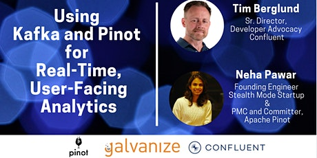 Using Apache Kafka and Pinot for User-Facing Real-Time Analytics [LIVE] tickets