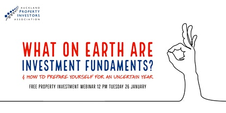 What on earth are 'investment fundamentals'? tickets