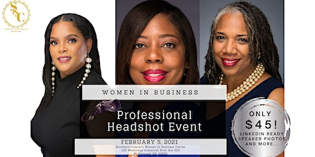 Professional Headshot Event: Women In Business tickets