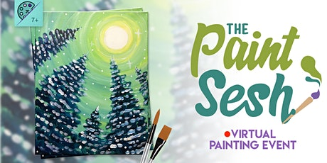"Online Painting Class – ""Snow Day"" (Virtual Painting at Home) tickets"