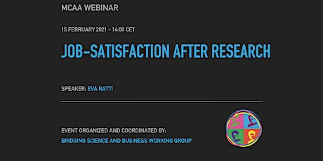 BSB Webinar: Job-satisfaction after Research tickets