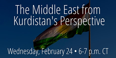 The Middle East from Kurdistan's Perspective tickets