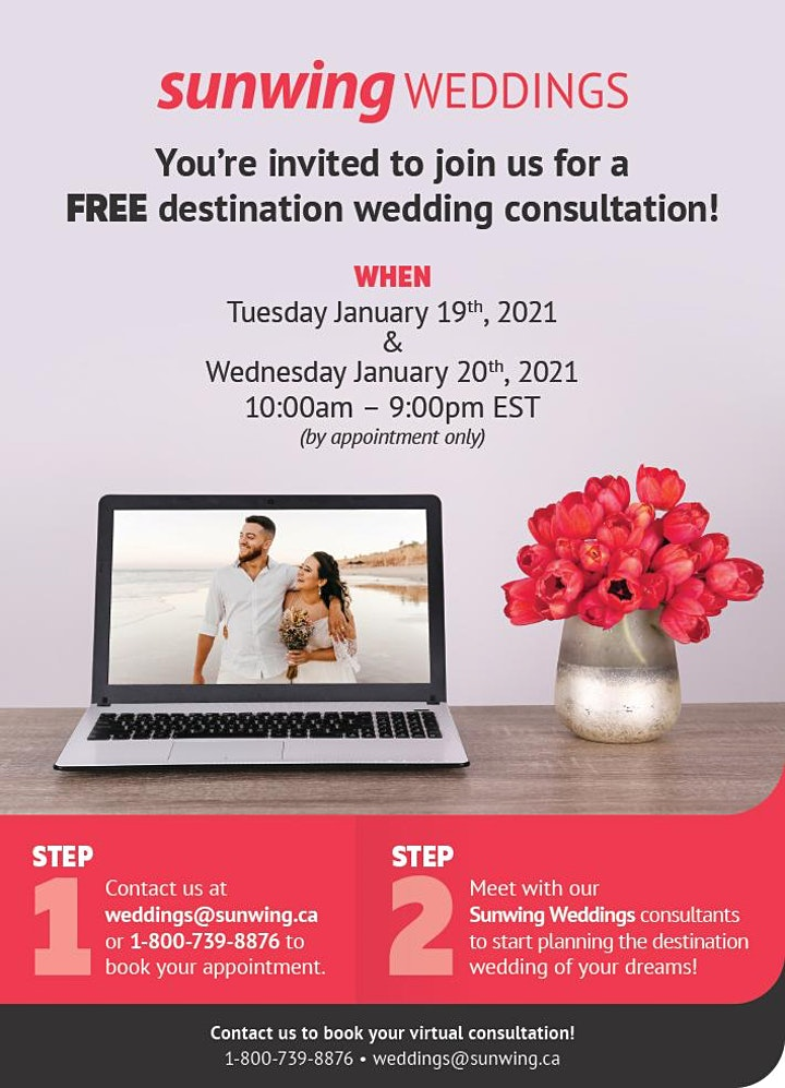 FREE Destination Wedding Consultation! image