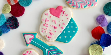 Virtual Cookie Decorating Class: Valentine's Day! tickets