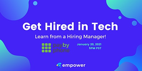 Get Hired in Tech: Learn from a Hiring Manager tickets