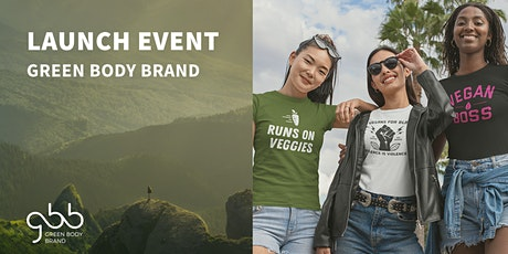 Green Body Brand Launch Event tickets