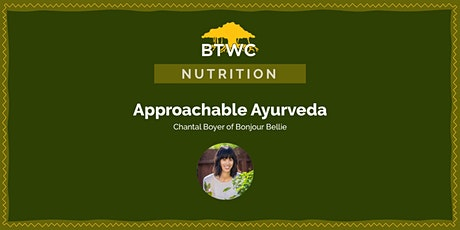 Approachable Ayurveda tickets