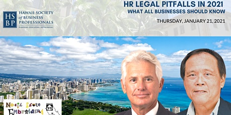 HR LEGAL PITFALLS in 2021: What Businesses Should Know tickets