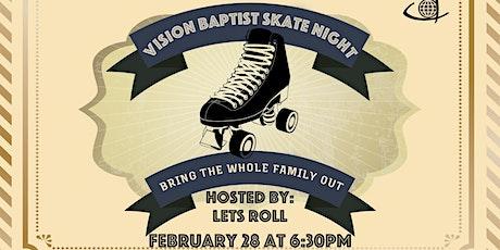 Family Skate Night tickets