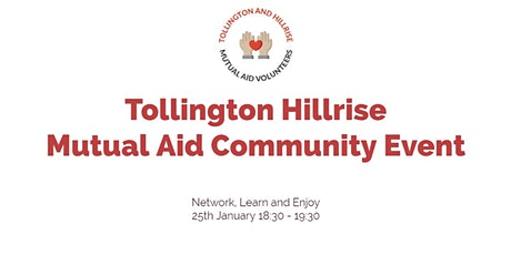 Tollington Hillrise Mutual Aid Community Afterwork tickets