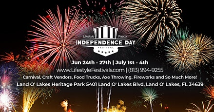 Lifestyle Pasco Independence Day Festival tickets
