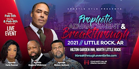 Prophetic Advancement and Breakthrough 2021 tickets