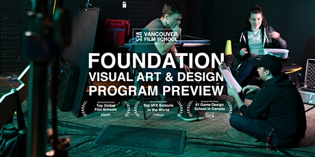 VFS Foundation Visual Art & Design Program Preview tickets