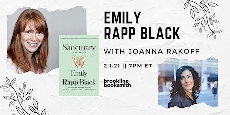Emily Rapp Black with Joanna Rakoff: Sanctuary tickets