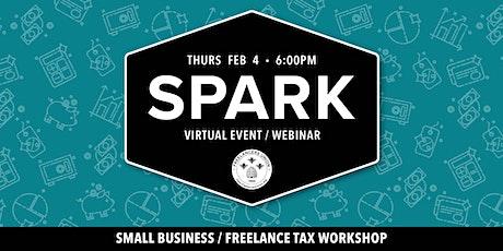 SPARK OC: Freelance Tax Workshop tickets