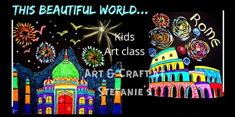This Beautiful World. (Kids Art session) tickets