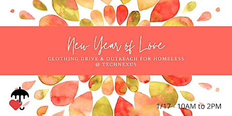 New Year of Love   Coat Drive & Outreach tickets