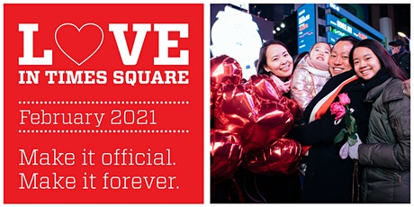 Love in Times Square 2021: Annual Vow Renewal Ceremony tickets