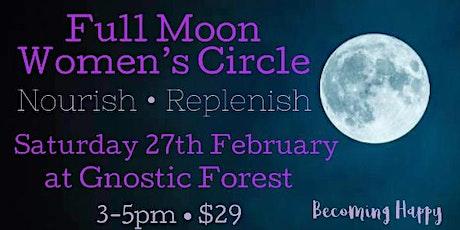 Full Moon in Virgo Women's Circle tickets