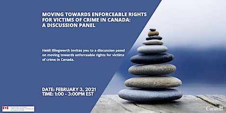 Moving towards enforceable rights for victims of crime in Canada tickets