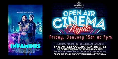 INFAMOUS | Open Air Cinema Nights tickets