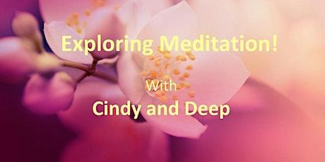 Exploring Meditation tickets