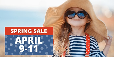Just Between Friends Lawton Spring Consignment kids sale  April 9-11 tickets