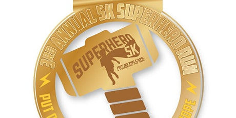 The 3rd Superhero 5k presented by Gammage & Burnham Attorneys at Law tickets