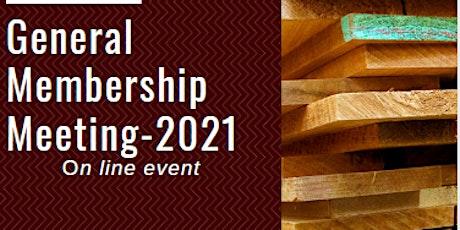 General Membership Meeting 2021 tickets