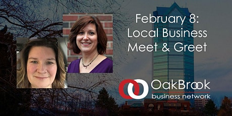 VIRTUAL Oak Brook Meeting February 8: Meet & Greet tickets