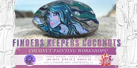 Coconut Painting with Arinee! tickets
