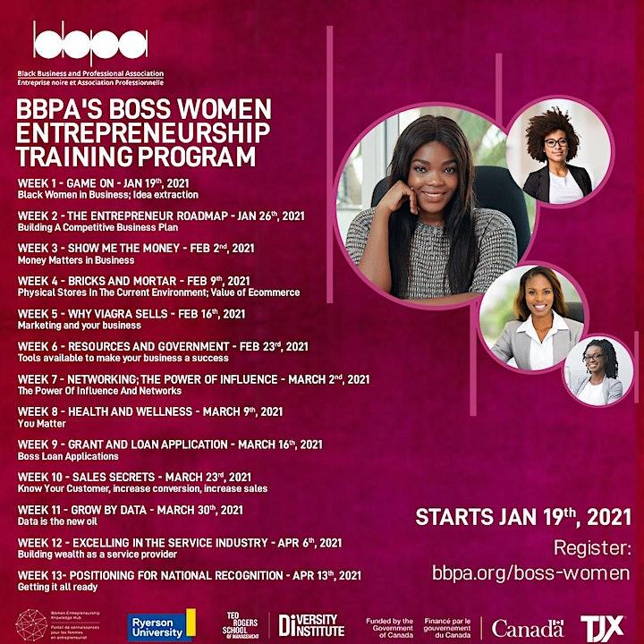 Boss Women Entrepreneurship Training Program 3.0! image