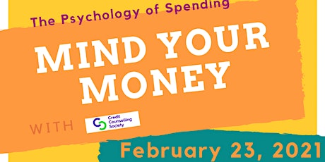 Mind Your Money - The Psychology of Spending tickets
