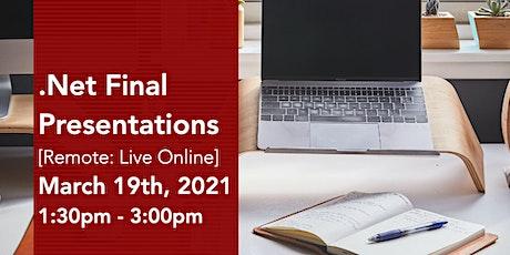 ASP.NET Virtual Final Presentations Tickets