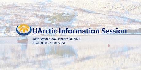 UArctic Online Information Session tickets