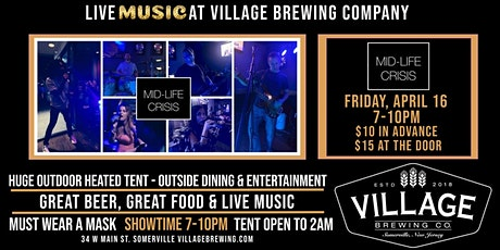 Midlife Crisis @ Village Brewing Company tickets