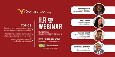 HR Webinar - Building Empowered Teams tickets