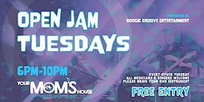 Open Jam Tuesdays 2/23
