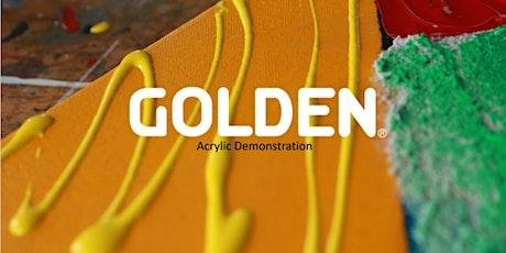 GOLDEN Acrylic Virtual Lecture/Demo (Dakota) entradas