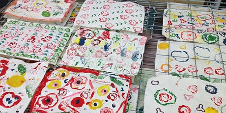 Drop-in Fabric Printing Workshop for All Ages! tickets