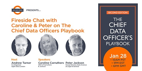 ADL  presents Fireside Chat with Caroline & Peter on The CDO Playbook tickets